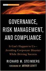 Governance, Risk Management, and Compliance - It Can't Happen to Us