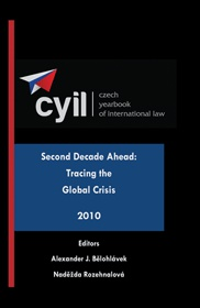 Czech Yearbook of International law